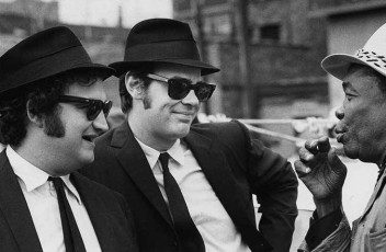Blues Brothers and John Lee Hooker Is there a cooler picture than this?
