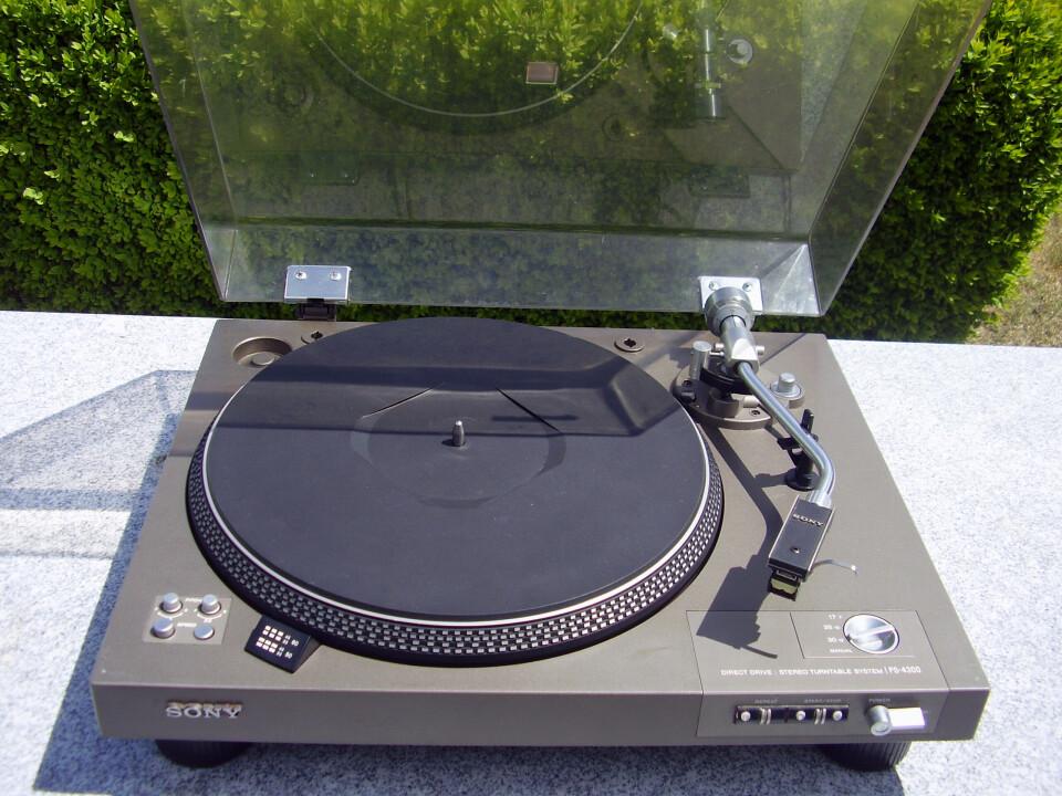 Sony Vintage Turntable Teile