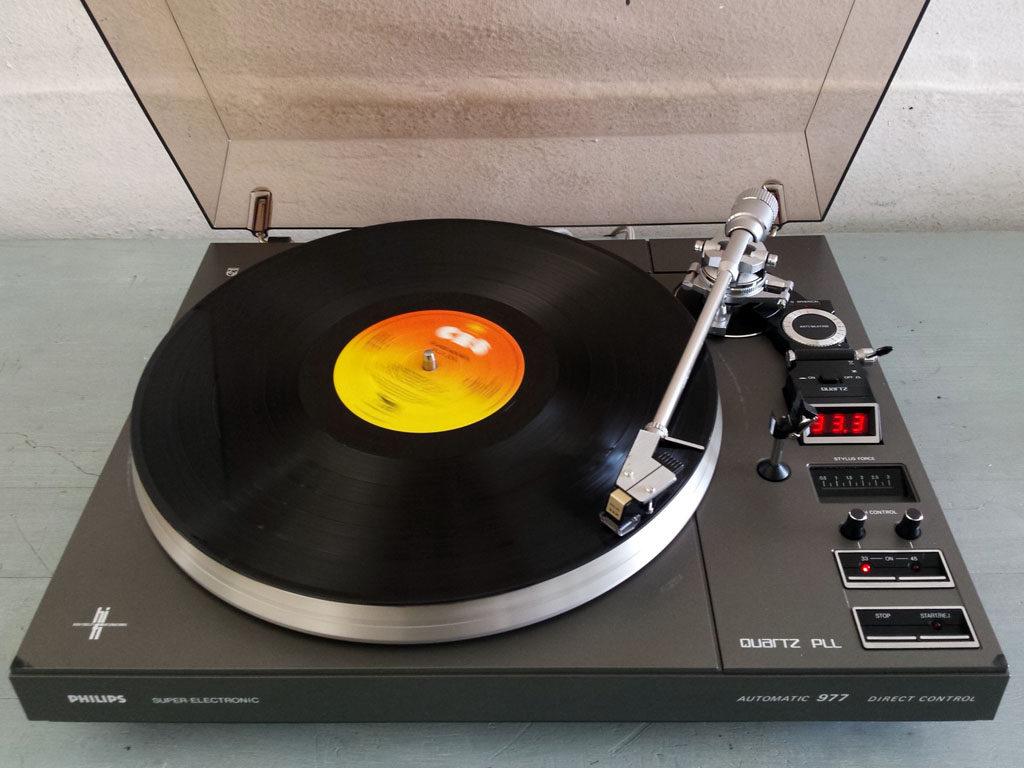 Philips 977 Turntable