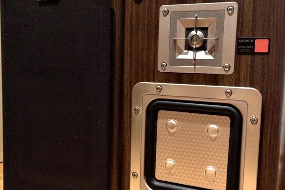 SONY APM 20ES Loudspeakers.