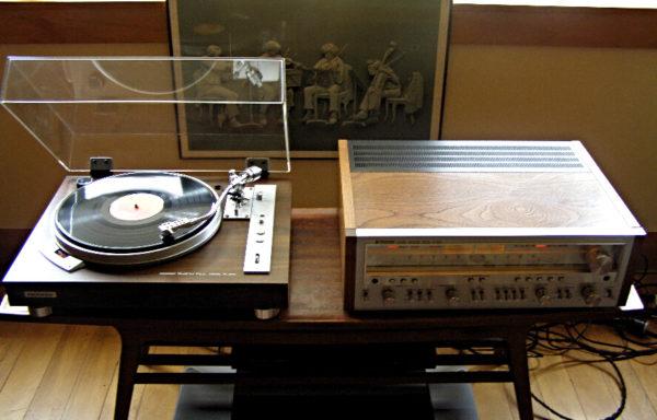 Pioneer SX-950  &  PL-550