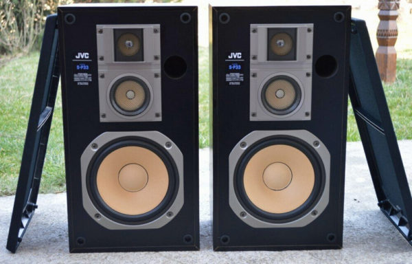 JVC S P33  Loudspeakers