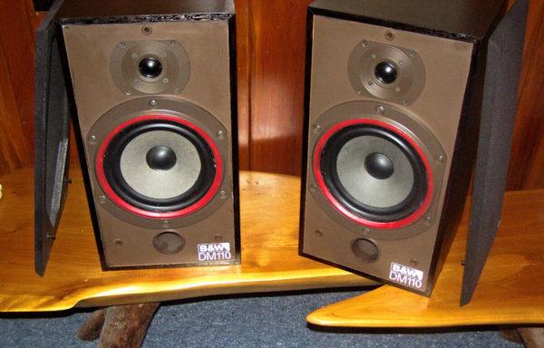 B&W DM 110 Loudspeakers