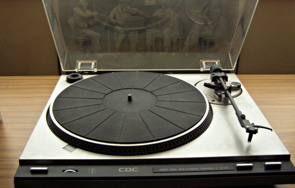 RARE Vintage C.D.C. Chuo Denki ST520 Direct Drive Turntable