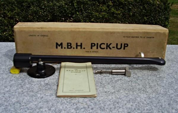 MBH 14 inch tonearm